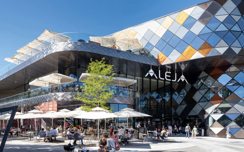 ALEJA shopping center: A World of Experience with the Skin of a Dragon