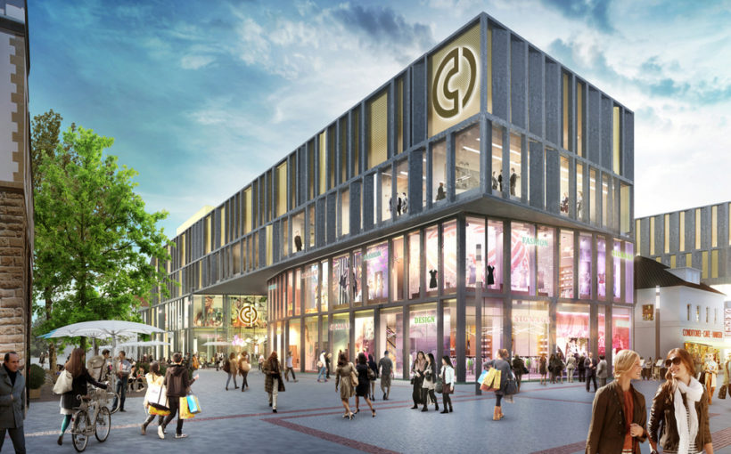 ECE: Cano shopping center in Singen opening on November 19, 2020