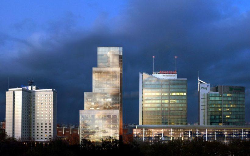 POLAND Poznań's tallest tower begins to rise