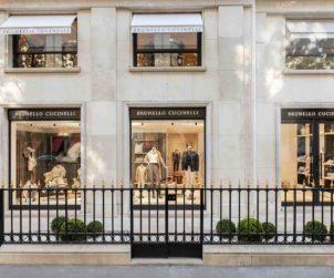 Brunello Cucinelli Launches Flagship in Paris