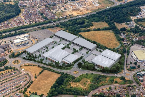 Credit Suisse, Chancerygate and Hines team up for Bracknell business park (GB)