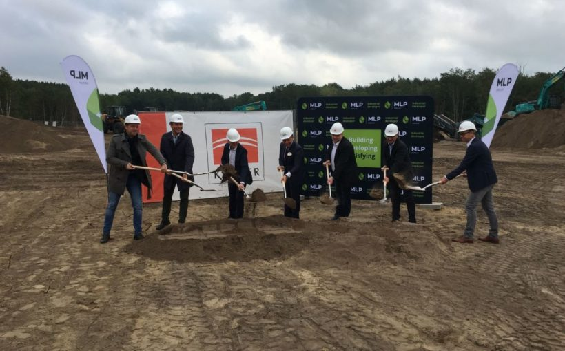 CENTRAL EUROPE MLP starts work on Berlin warehouse park