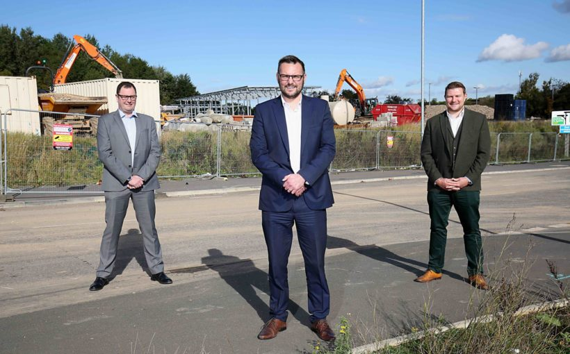 Construction Underway at £140m Business Park