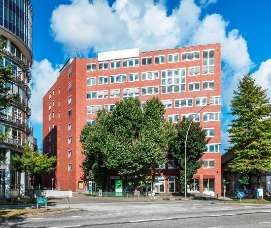 Schroder European REIT leases office space in Hamburg