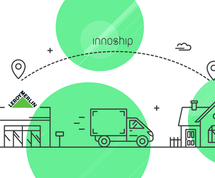 LEROY MERLIN partners up with the tech start-up Innoship in order to streamline delivery management