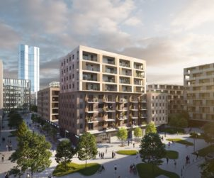 New building with 185 apartments announced in BudaPart