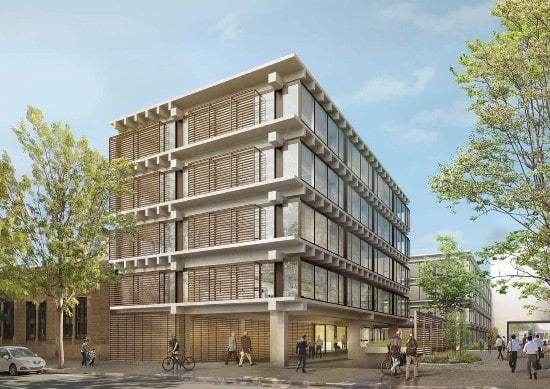 AEW announces prime office development in Barcelona