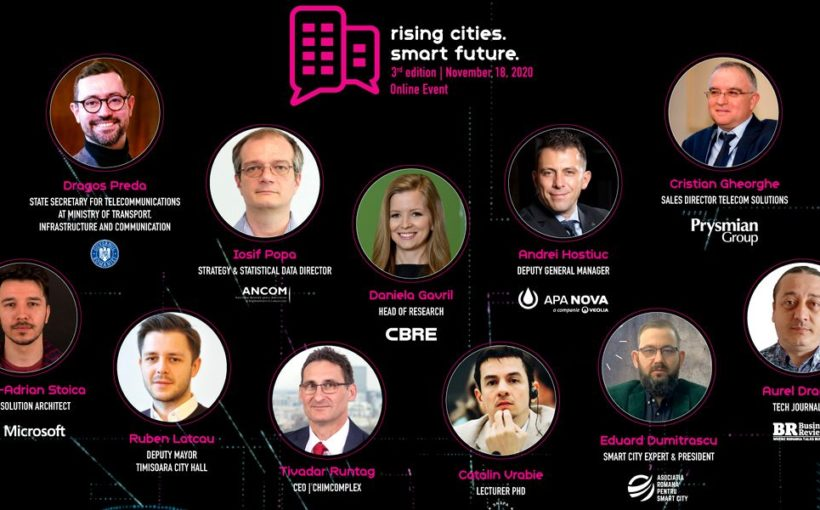 Stay Tuned: Rising Cities. Smart Future 2020 will be live, November 18, starting at 10:00 AM