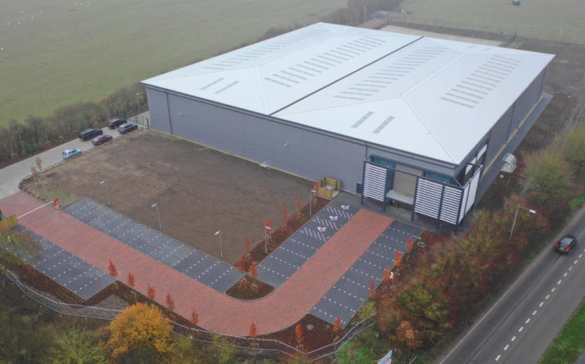 Kirkby Diamond Delivers New HQ for Logistics Firm