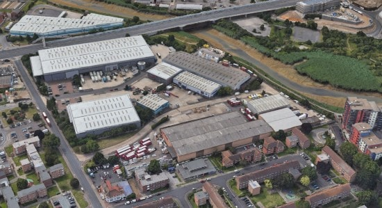 Valor acquires industrial estate in East London