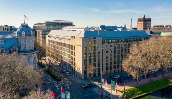 Hines buys Commerzbank building in Düsseldorf