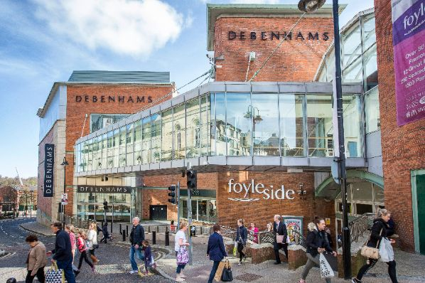 Frasers to replace Debenhams at Foyleside creating 200 jobs (GB)