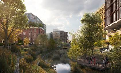 Work starts on Manchester development