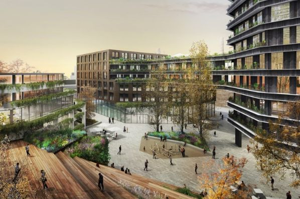 Hines and UDIN invest in Barcelona regeneration project (ES)