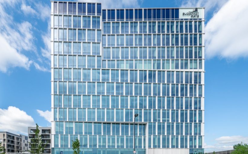 LEED GOLD rating awarded to BudaPart GATE office building