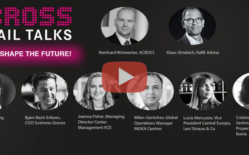 "ACROSS Retail Talks Online on the topic ""How to Shape the Future"""