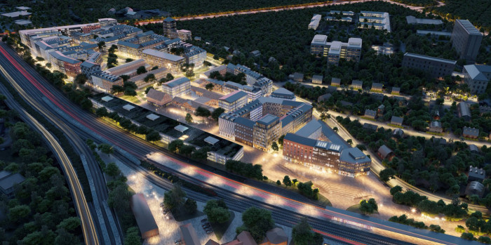 SBB Develops a New District in Nyköping