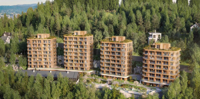 AF Gruppen Buys 50 percent of Residential Project in Oslo