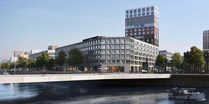 A Consortium of YIT and A-Kruunu Proposed to Win the Lukki Residential Block