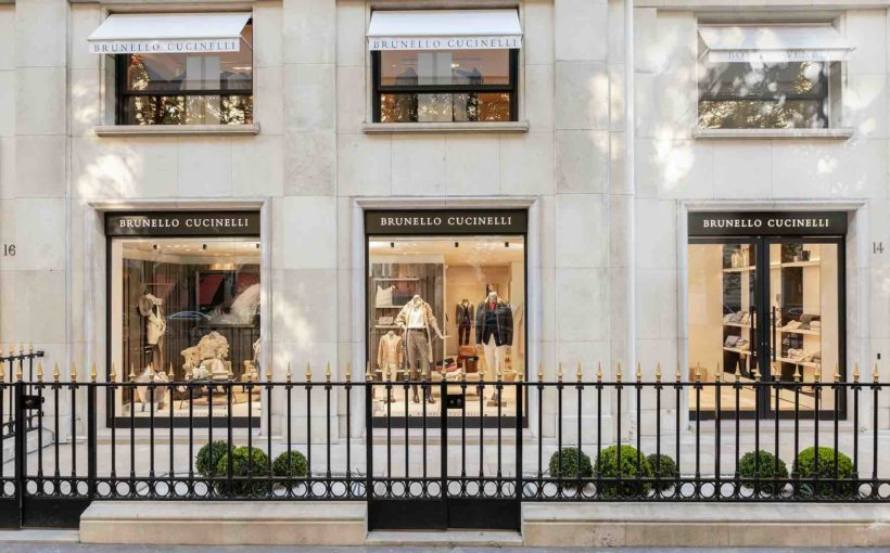 Brunello Cucinelli Launches Flagship in Paris