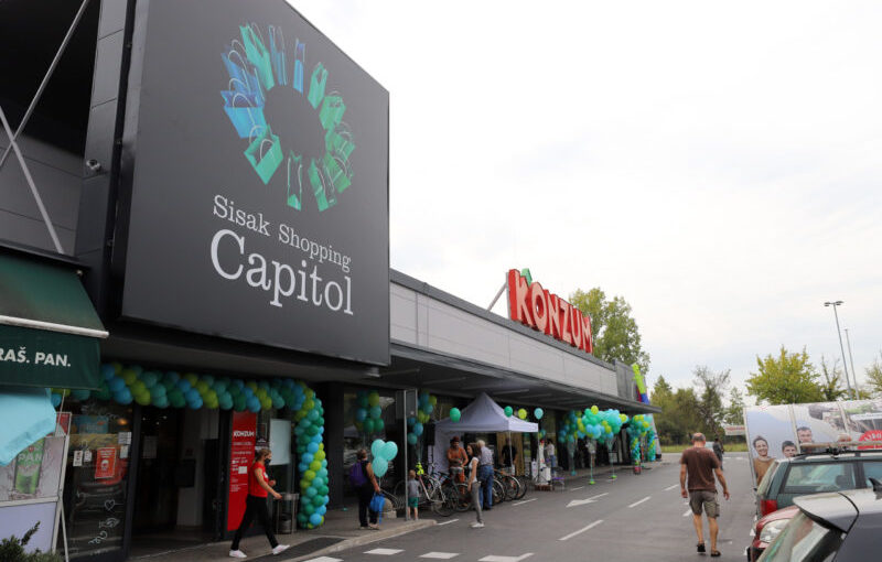 Sisak Shopping Capitol Welcomes its First Visitors