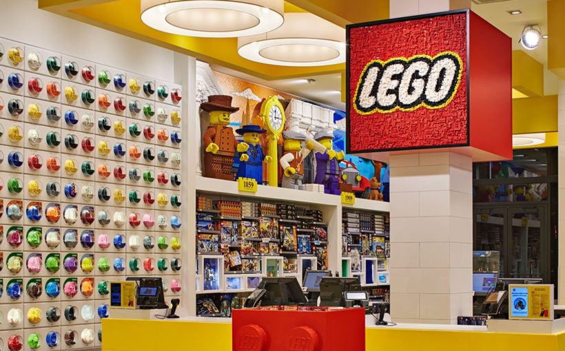 Lego Continues Physical Expansion