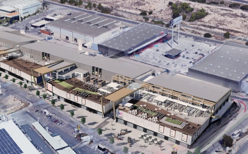 Chapman Taylor supporting on remodelling of La Marina de Finestrat shopping centre in Alicante