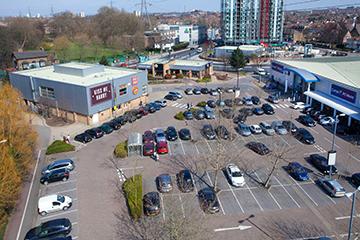 Priory Retail Park Merton London