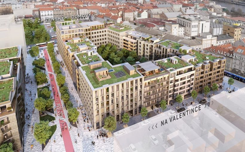 CZECH REPUBLIC Prague's largest city-forming project begins