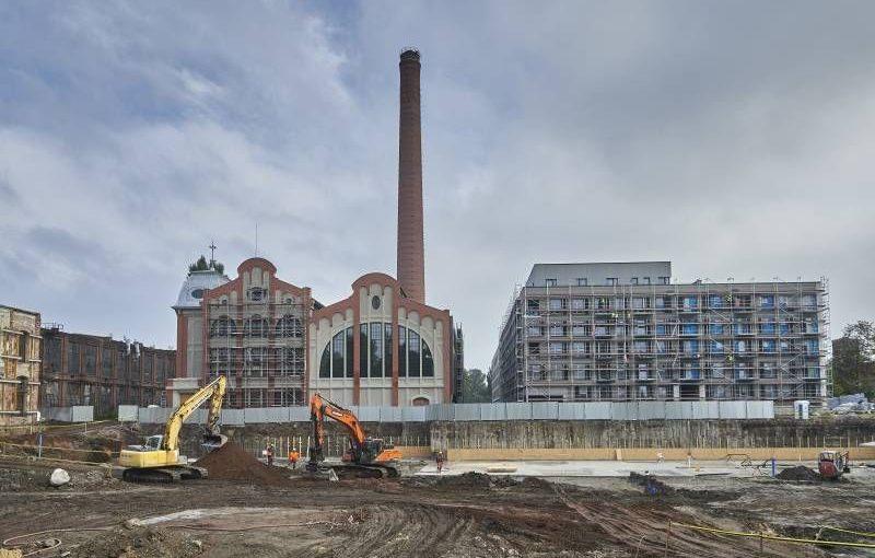 Poland Echo breaks ground on Fuzja