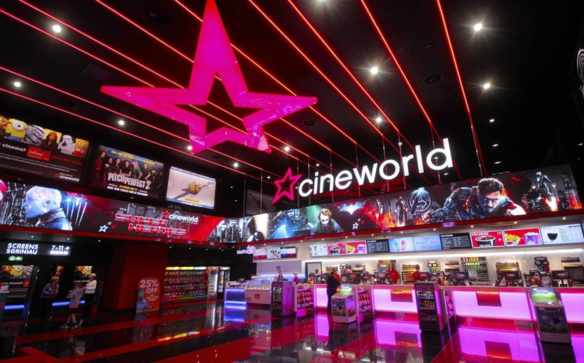 Cineworld Announces Closures