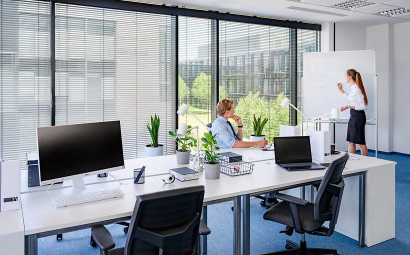 Organization of the workspace is a challenge for companies today