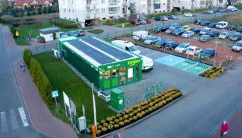 Poland Żabka goes green