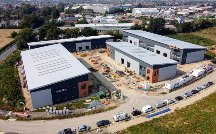 £10m Bedfordshire Industrial Development Edges Closer to Completion
