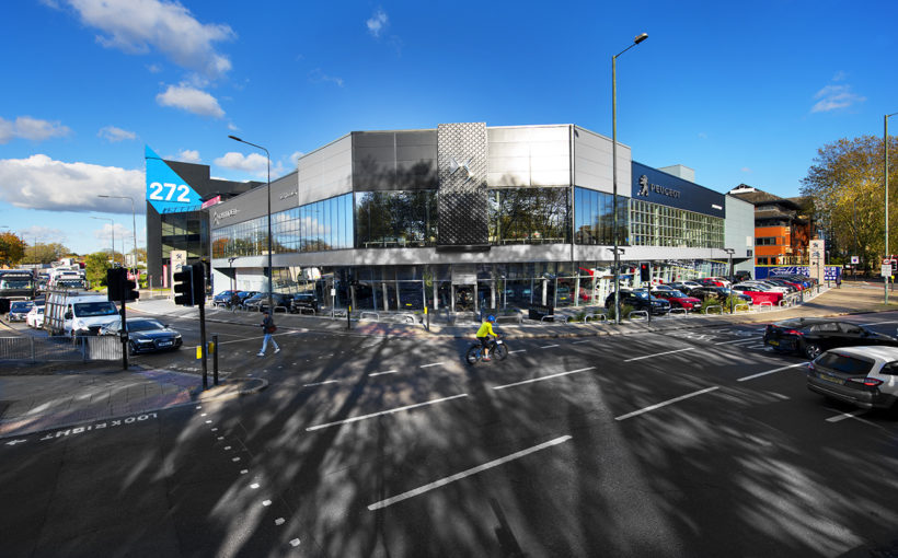 MCS Group Delivers Major London Peugeot Citroen Dealership