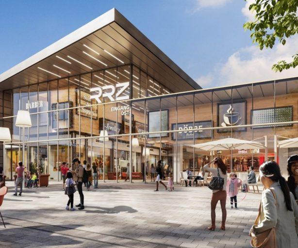 RRZ Eingang Maas Partner Bloom