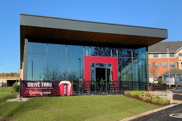 Harworth completes new Costa drive-thru in Yorkshire (GB)