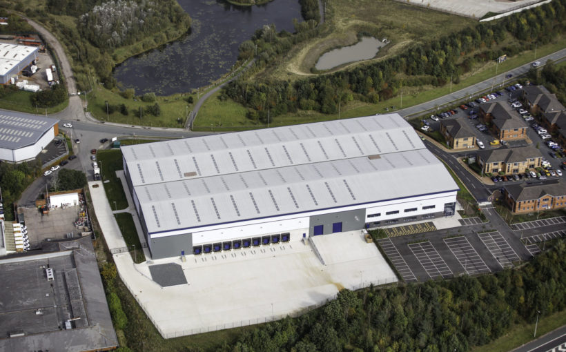 102,000 Sq Ft Speculative Industrial Development let to TES