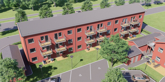 Heimstaden Acquires Property Projects in Strängnäs