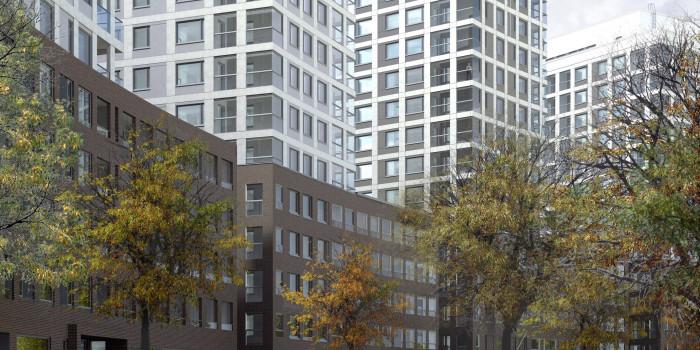 Skanska Builds Apartments in Helsinki