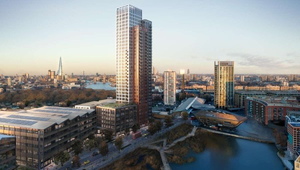 British Land signs first pre-let at Canada Water