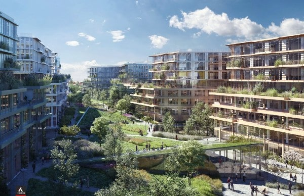 Swiss Life AM buys future Engie eco-campus in La Garenne-Colombes