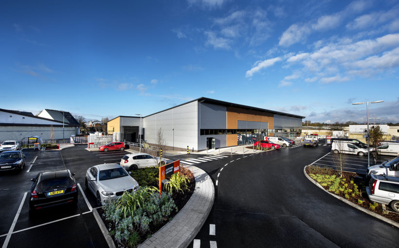 MCS Group Completes Retail Park Construction at Former Gasworks