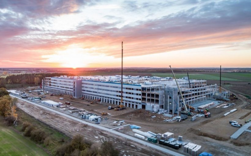Poland Amazon builds in Świebodzin