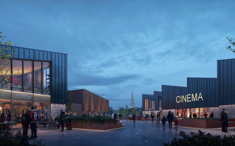 The Arc Cinema Signs up at Rotherham's Forge Island