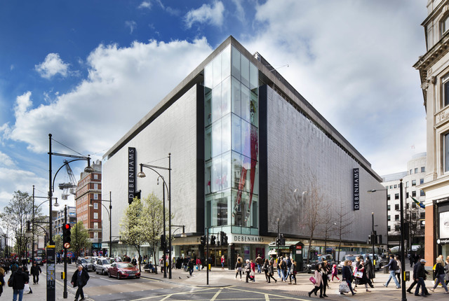 Debenhams Oxford St. Flagship Permanently Closes
