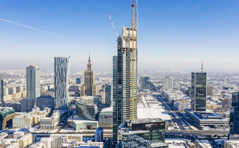 POLAND Varso Tower now the EU's tallest