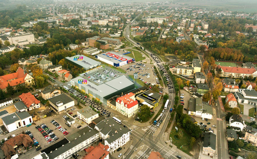 Martes Sport in the MultiBox Retail Park in Szamotuły, Poland