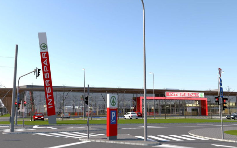 SES opens retail park in Kaposvár, Hungary