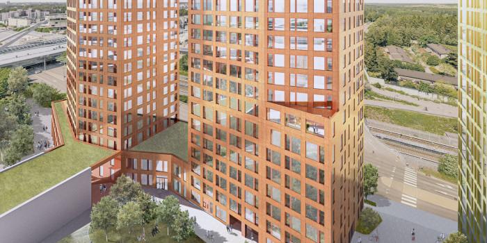 Skanska Builds Rental Apartments in Helsinki